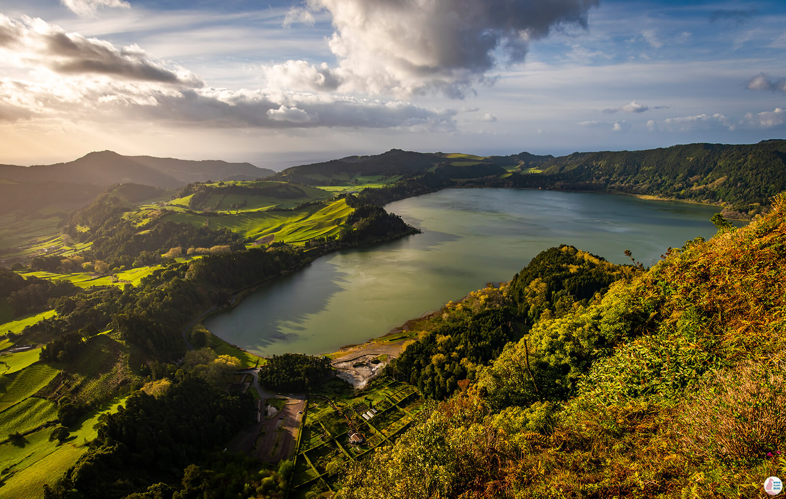 Morning at Lagoa das Furnas, São Miguel Island, Azores