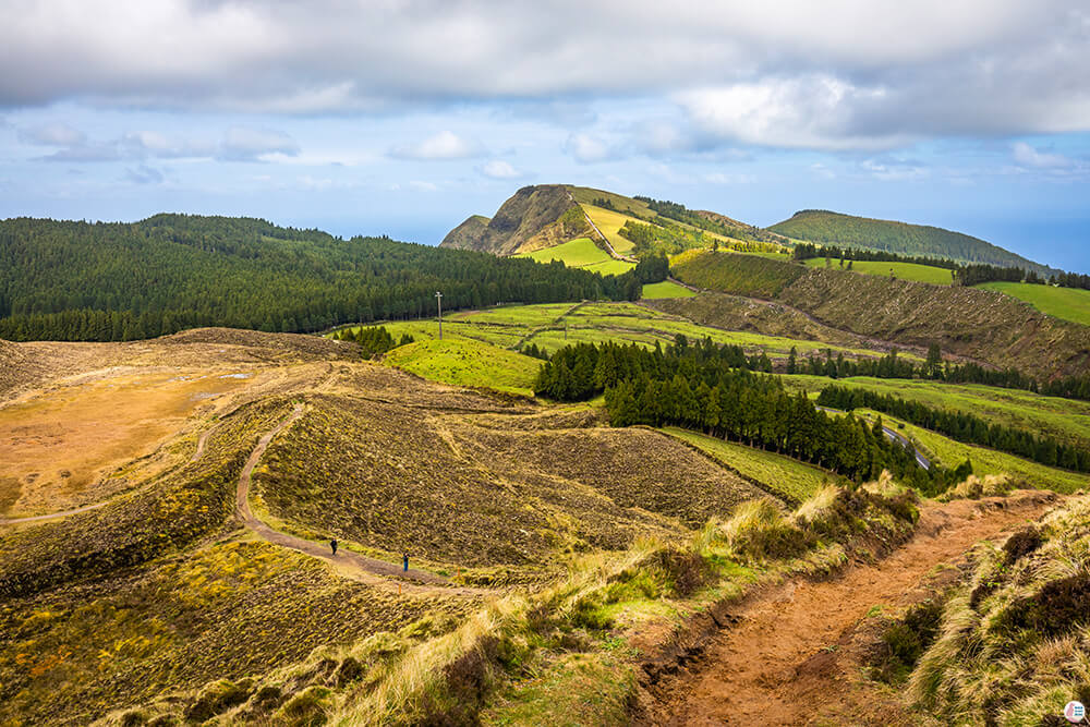 View from around Lagoa das Éguas, São Miguel Island, Azores