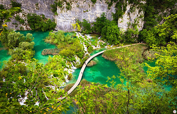 Picture from Plitvice Lakes National Park, Croatia