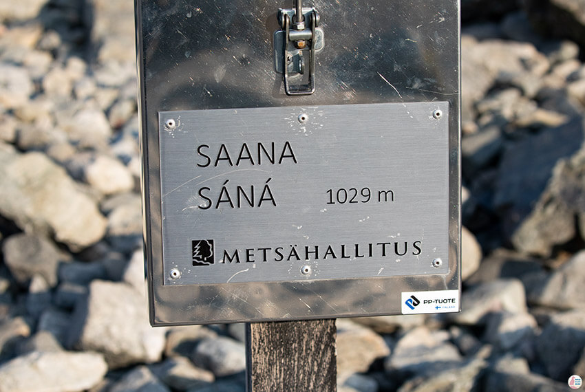 Saana summit 1029 m above sea level, Kilpisjärvi, Lapland, Finland