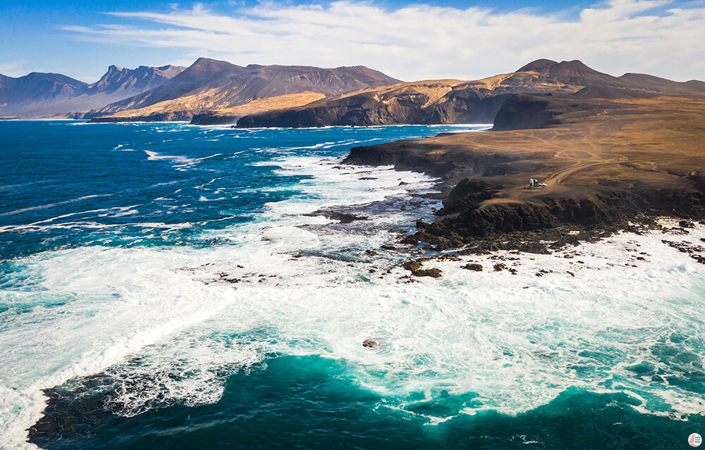 Punta Pesebre aerial view, Best Places to See and Photograph on Jandia Peninsula, Fuerteventura