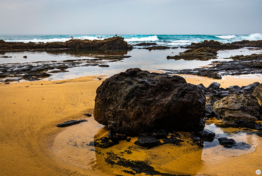 Rocks and waves around Roque Del Moro, Fuerteventura Landscape Photography
