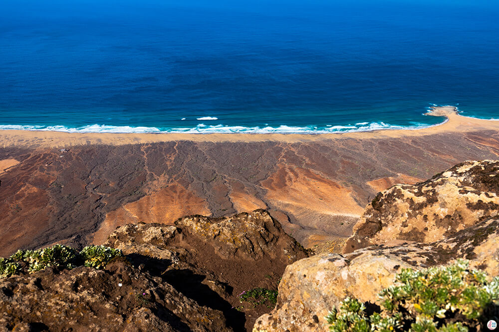 Pico de la Zarza, view towards Cofete beach, Best Places to See and Photograph on Jandia Peninsula, Fuerteventura