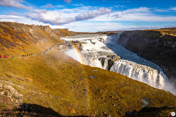 Gullfoss, One Day Exploring the Golden Circle in Iceland