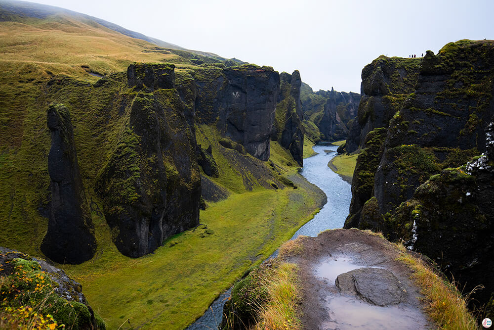 Fjaðrárgljúfur Canyon, Solo Female Traveller, South Iceland