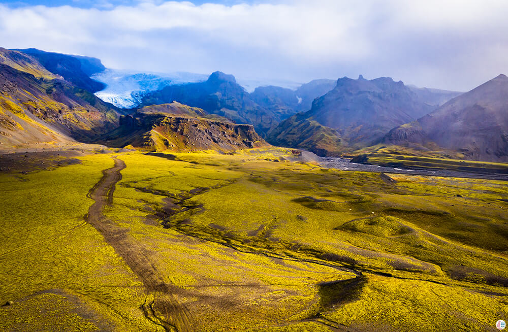 Southern Part of Vatnajökull National Park, South Iceland