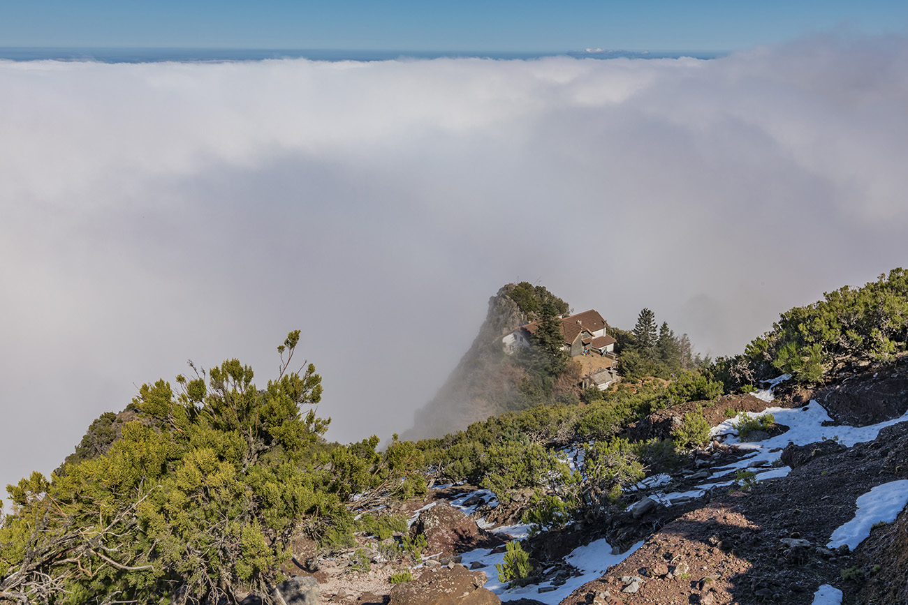 View from Pico Ruivo, Madeira