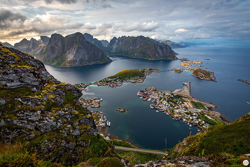 Picture from Reinebringen, Lofoten, Norway Norway