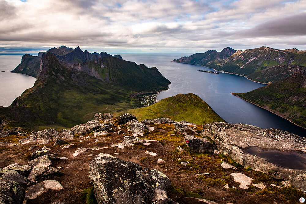 Barden Hiking Trail - Most Amazing Views on Senja Island, Northern Norway