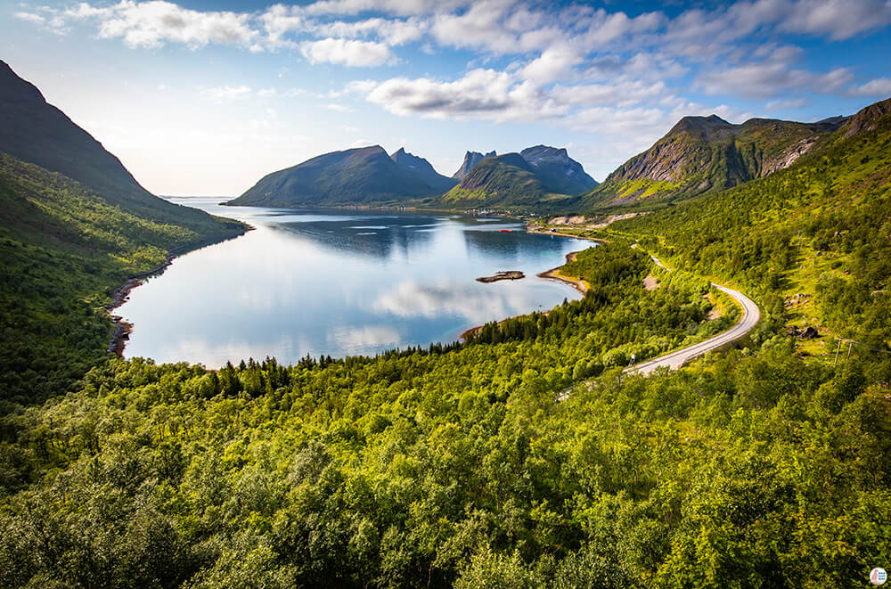 Bergsbotn Platform Viewpoint, Senja, Northern Norway