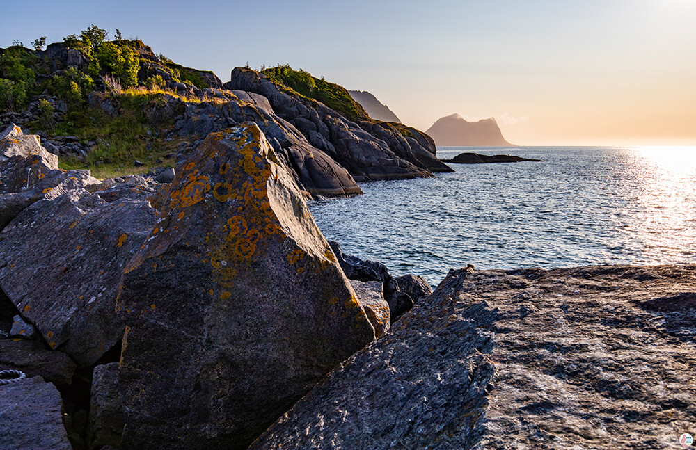 Nature walk around Hamn, Senja, Northern Norway