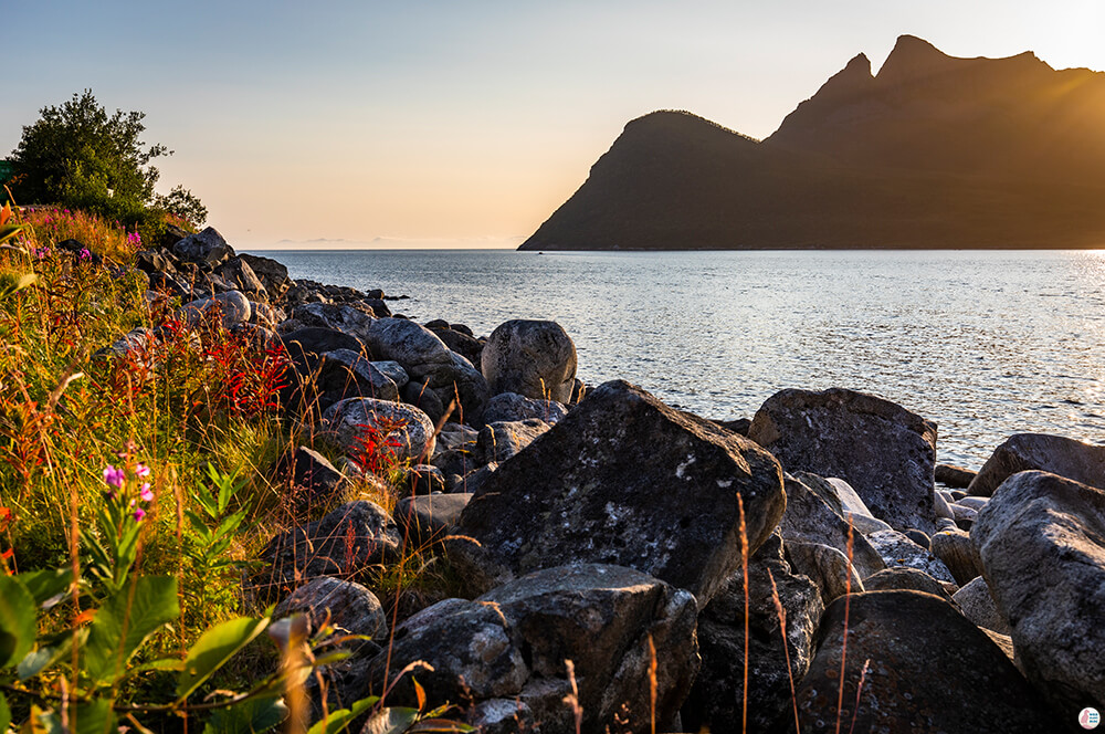 Gryllefjord landscape, Senja, Northern Norway