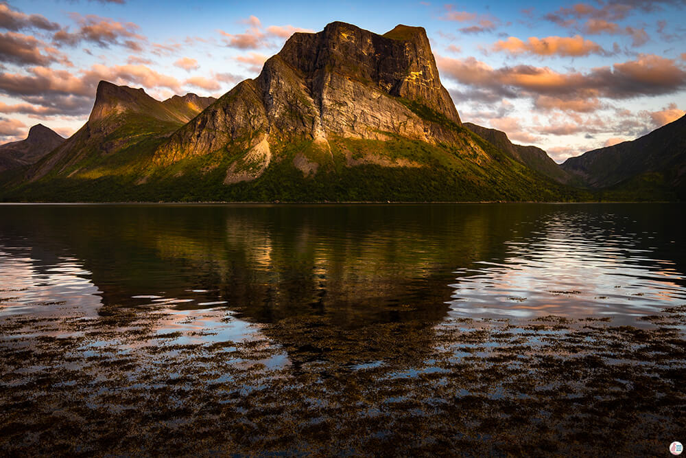 Landscape around Bergsbotn, Senja, Northern Norway