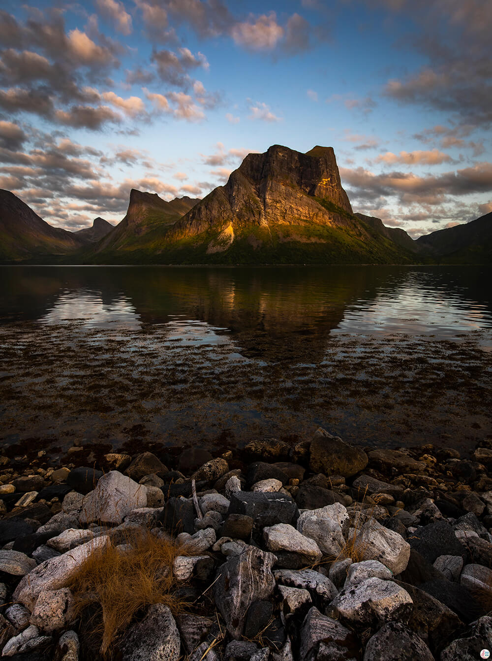 Skolpan mountain, Bergsbotn, Senja, Northern Norway