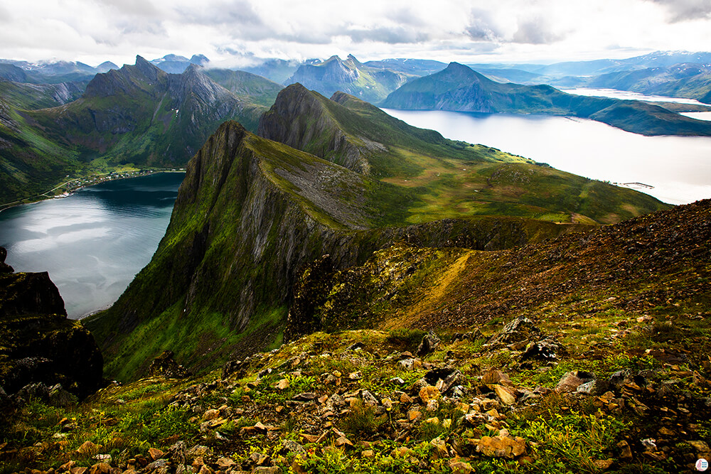 Husfjellet - Amazing Hiking Trail on Senja Island, Northern Norway