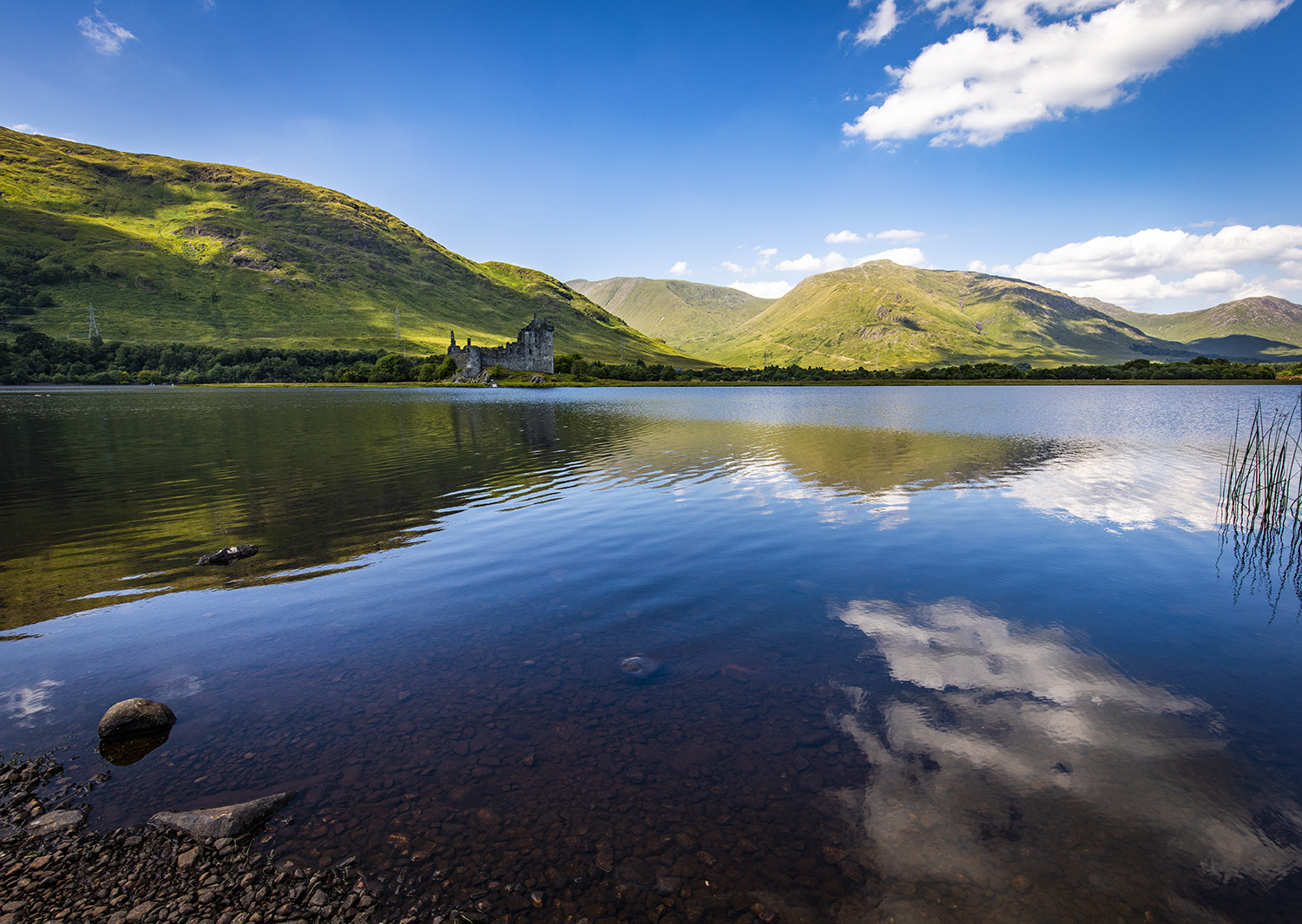 Kilchurn Castle and Loch Awe