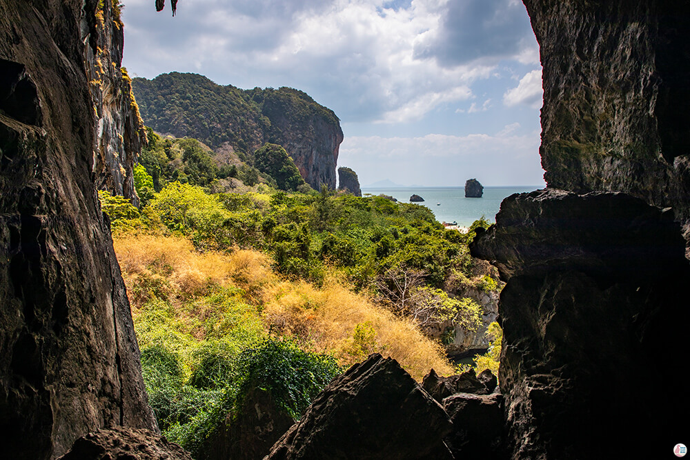 The Bat Cave on West Phra Nang Beach, Best Viewpoints to Hike and Photograph in Krabi, Thailand