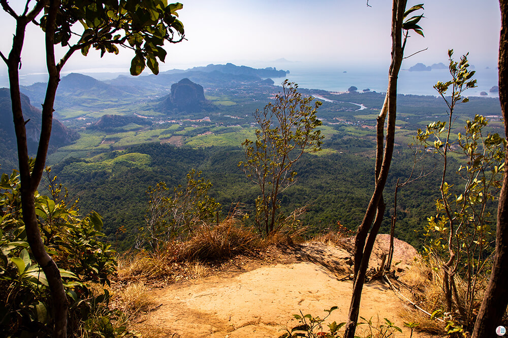 View from Khao Ngon Nak, (aka Dragon Crest), Krabi, Thailand