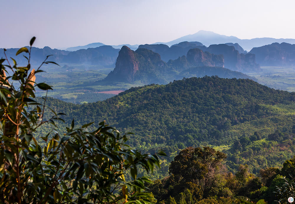 Awesome View from Khao Ngon Nak Hiking Trail (aka Dragon Crest), Krabi, Thailand