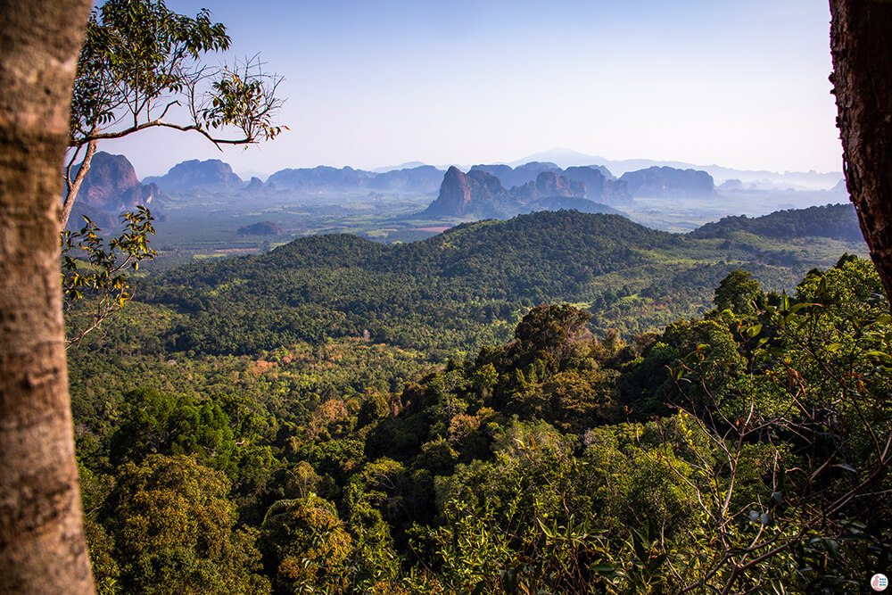 Fantastic View from Khao Ngon Nak Hiking Trail (aka Dragon Crest), Krabi, Thailand