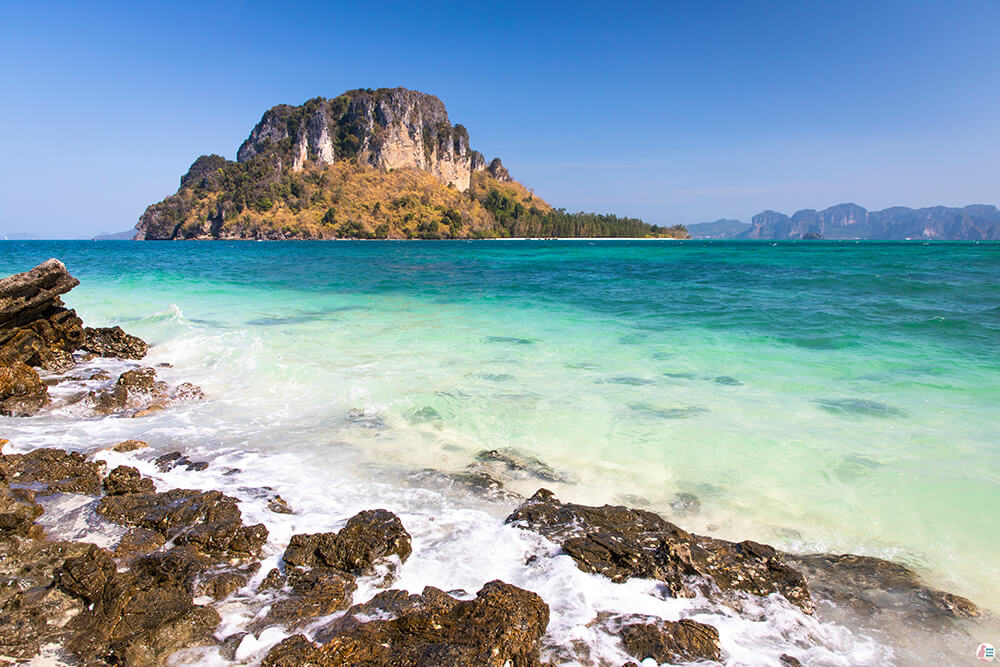 View from Thap Island, Krabi, Thailand