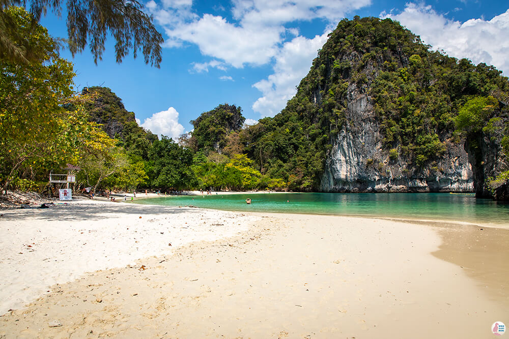 Tropical paradise on Hong Island, Krabi, Thailand