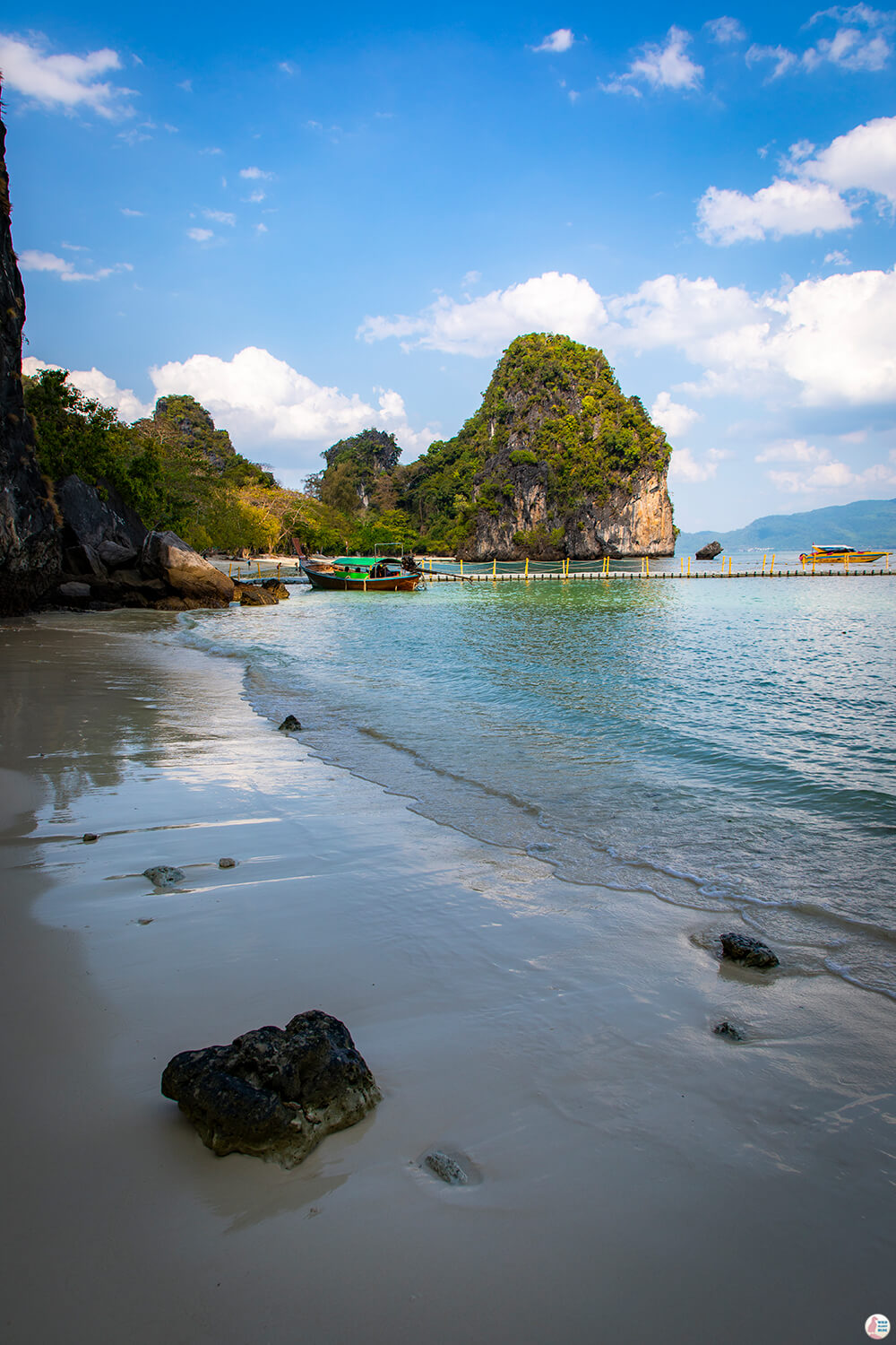 Beautiful nature on Hong Island, Krabi, Thailand