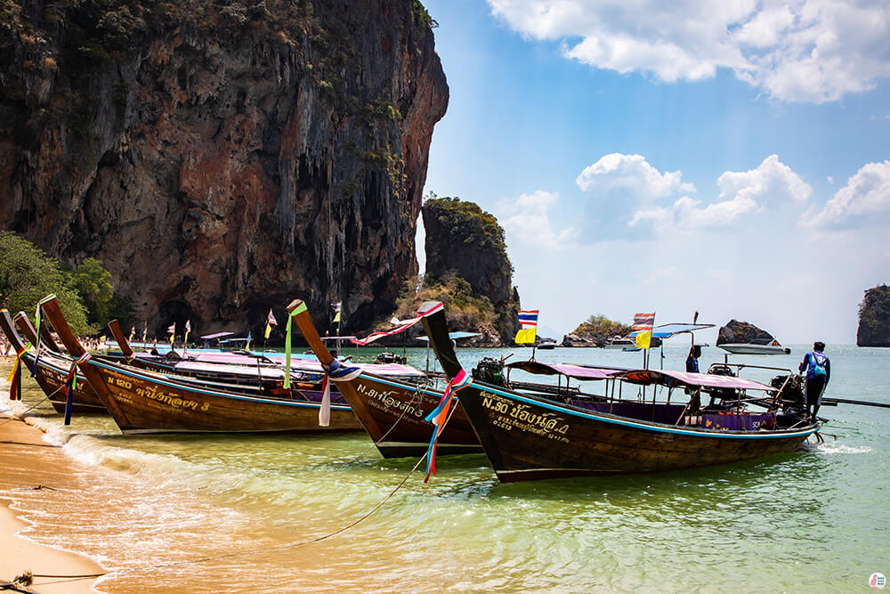 Four Islands Tour: Phra Nang Beach, Railay Bay, Krabi, Thailand