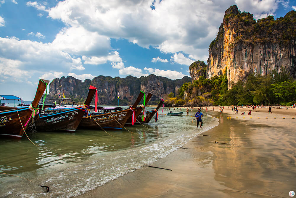 Railay West Beach, Krabi, Thailand