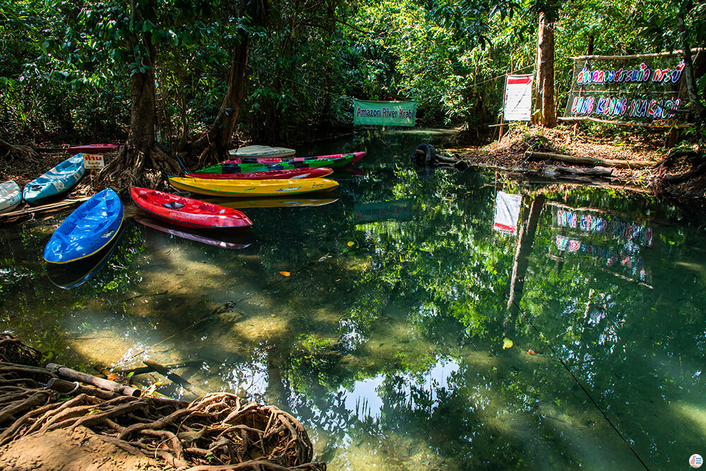 Long Klong Srakaew Kayaking Centre, Than Bok Khorani National Park, Krabi, Thailand
