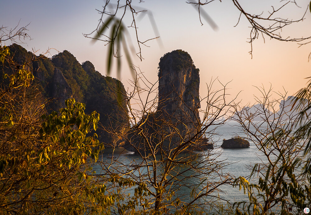 View from the Monkey Trail in Ao Nang, Krabi, Thailand