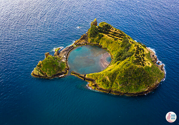 Picture of Islet of Vila Franca do Campo, Azores, taken with DJI Mavic Pro 2 drone